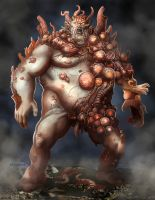 Mutant Worm Zombie by Mr-Donkeygoat