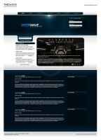 Concept: Interwave Website by the-danzor