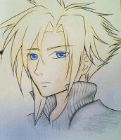 Cloud Strife by ACreativeKitten