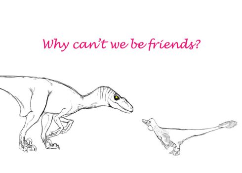 Why can't we be friends? by pmraptor98