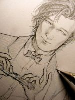 Doctor Who - I don't need keys - SKETCH by Lehanan