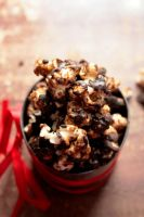 Chocolate Covered Salted Caramel Popcorn by sasQuat-ch