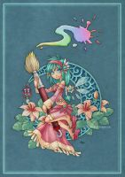 Fairy of Color by -lildragon-