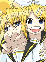 Len and Rin by Itachifan137