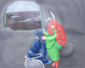Caught in the storm by MissRiku