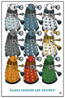 Daleks Conquer And Destroy! by DrFaustusAU