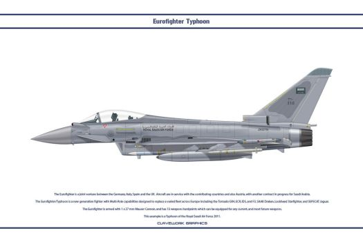 Eurofighter Saudi 1 by WS-Clave