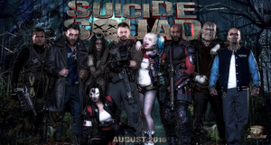 Suicide Squad Poster (1) by JosephCAW