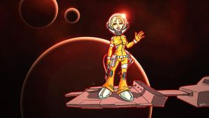 Kara Thrace red by YoulDesign