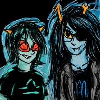 Scourge Sisters by askSpider8itch