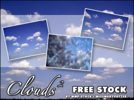 FREE STOCK, Clouds 2 by mmp-stock