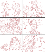 Digimon Stream Doodles! by Fly-Sky-High