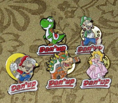 Danup Complete Mario Pin Set by avaneshop