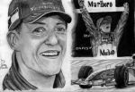 Michael Schumacher by Galbatore