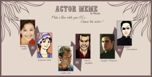 Amber Peace+SnB - Actor Meme by TeknicolorTiger