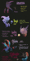 Haunter Hybrids by manic-in-tricolour
