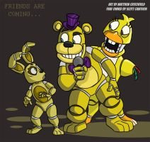FNAF4 - Friends are Coming - 9-13-15 by Mattartist25