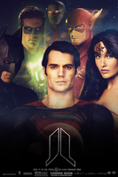 Justice League (Fan-Made) Poster by DiamondDesignHD