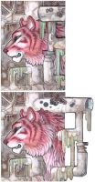 ACEO - Pull down Heaven by drachenmagier
