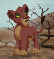 Little Kovu (my design) by NewSea-ANother