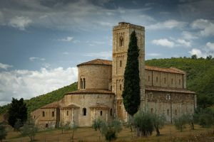 Sant'Antimo Abbey by xisidoro