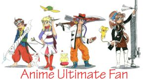 Anime Ultimate fan 3 by moukidelmar