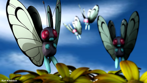 Butterfree 3D by bogeymankurt