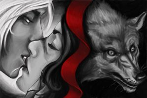 Fanfic Cover: Black Wolf by Didiher