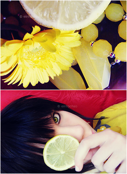 against the lemon. by einfachso