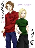 Cassius and Amalie by Tanci