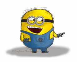 Despicable Me Minion by Liefesa