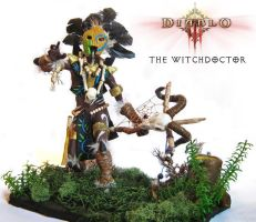 Diablo 3 - The Witchdoctor by DarkBlueArt