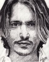 Johnny Depp by DarkCalamity