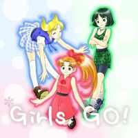 PPG:Girls, GO by MakiHosaku
