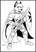 Fox Knight by Dustmeat
