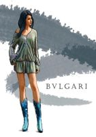 bvlgari fashion illo by Dreee