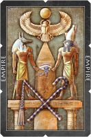 Egypt playing card by Turbopastry