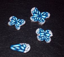 Butterfly Cane Detail by Eldessia