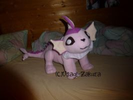 Pinkie the Vaporeon Plush by Usagi-Zakura