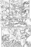 WoW Curse of the Worgen 4 pg08 by LudoLullabi