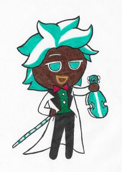 Cookie Run (Mint Choco Cookie) by ENDORE050