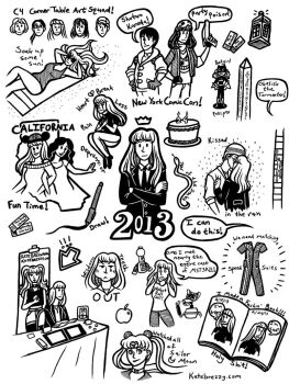 2013 by katebrezzy