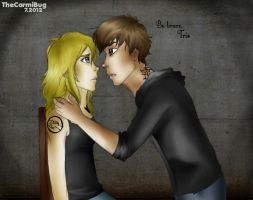 Be brave, Tris by TheCarmiBug