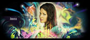 Evangeline Lilly Sig colour by javss