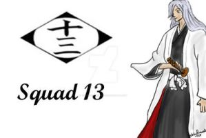 Bleach Squad 13 print by FoxTrotProducts