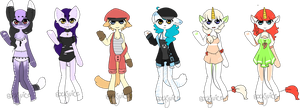 [ customs : anthros ] by sockjuice