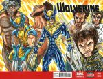 Wolverine 1 Sketch Cover by KwongBee-Arts