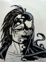 Venom Lobo by ReillyBrown
