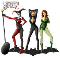 Gotham City Sirens by kasuouhhitachiin
