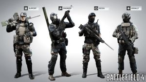 Battlefield 4: China MP soldiers by Bacurok